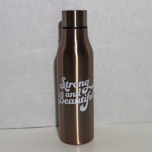 Rose Gold Double Wall Stainless Steel Water Bottle